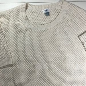 Old Navy Cropped Sweater- Size Medium